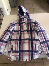 Empyre | Palisade White & Purple Snowboard Jacket Size Medium