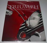 Bildband Triumph Sport + Eleganz TR Reihe Spitfire Stag Triumph 2000 Buch Neu!