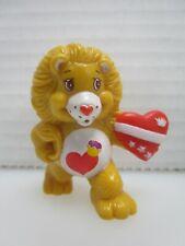 Care Bear Cousins Brave Heart Lion Protecting His Friends Pvc Figure 1984 Agc
