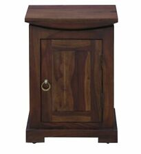 Solid Wood Bedside Table in Provincial Teak Finish