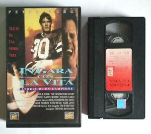 VHS Film Ita Drammatico IN GARA CON LA VITA Peter Berg ex nolo no dvd cd lp(V0)°