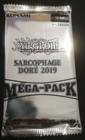 Yu-Gi-Oh ! Booster Mega-Pack Sarcophage Doré 2019 - 16 Cartes VF/NEUF !