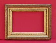 Profilrahmen Frankreich 19. Jh. - Holz, Ornamente Masse, vergoldet    (# 2634)
