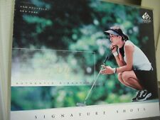 2004 Signature Shot Upper Deck Signed Photo-8x10 GRACE PARK LPGA Champion Golfer