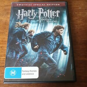 Harry Potter and the DEATHLY HALLOWS Part 1 DVD R4 Like New!