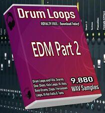 Edm Drums and Beats Part 2 Drum Wav Loops Cubase Logic Reason Fl Studio Ableton