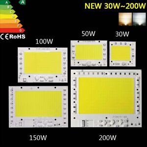 LED Chip 10w 50w 100w 200w lampe Smart IC Cob Licht high power watt AC 220V 230v
