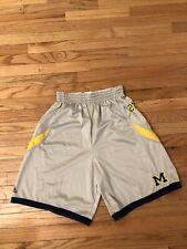 Michigan Wolverines NCAA Adidas Women's Game Worn Basketball Shorts Size L
