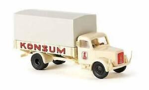 BREKINA 41010 Truck Magirus S 3500 Pp Ditta Konsum Scale H0 1/87
