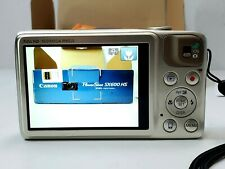 Canon PowerShot SX600 HS 16.0MP Digital Camera (Gold) + SD Card 16Gb + Case