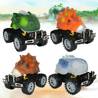 New Dinosaur Model Mini Toy Car Back Of The Car Gift Pull Back Car For Kids