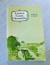 VINTAGE CONTRA COSTA COUNTY CHRONICLES PACHECO MALTBY MOUND MOUNT DIABLO 1967