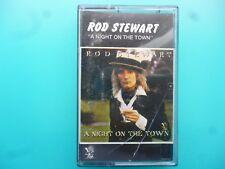 "ROD STEWART  "" A NIGHT ON THE TOWN ""  CASSETTE"
