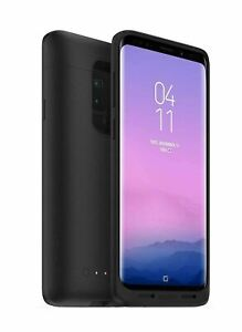 Mophie Juice Pack Slim Wireless Charging Battery Case Cover Black For Samsung S9