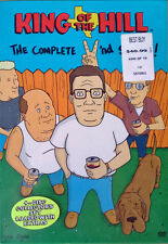 KING OF THE HILL - COMPLETE SECOND SEASON - (4) DVD BOX SET - STILL SEALED