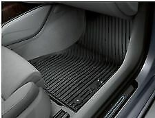 AUDI A6 SET OF TWO FRONT RUBBER FLOOR MATS 4G2061501041 2011 - 2018 GENUINE