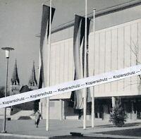 Göppingen - Die neue Stadthalle - um 1955 oder früher ?