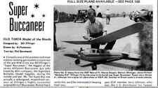 1937 Super Buccaneer 90 inch  Old Timer Vintage Free flight / RC  Plans