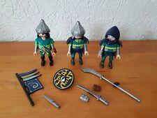 Playmobil Figur 3 Ritter zur Ritterburg Asia