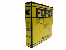 Ford 6500, 7500 TLB Tractor Loader Backhoe Service Manual Repair Shop Book NEW