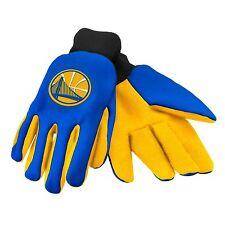 Golden State Warriors Gloves Sports Logo Utility Work Garden NEW Colored Palm