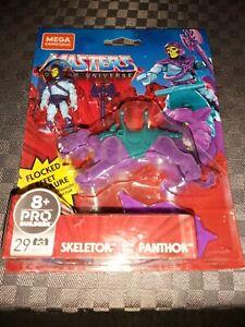 Mega Construx - Skeletor & Flocked Panthor - Masters Of The Universe - Motu MOC