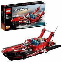 LEGO 42089 Technic 2-IN-1 Model Power Boat And Hydroplane Construction Toy Set