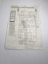 Kenwood Spectrum 980Cd System Connections Original Diagram