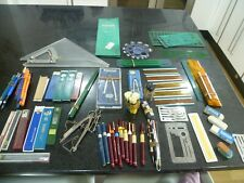 More details for job lot technical drawing pentel spare leads rotring ink & .3mm pen compass etc