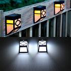Waterproof LED Solar Power Light Sensor Wall Light Outdoor Garden Fence Lamp