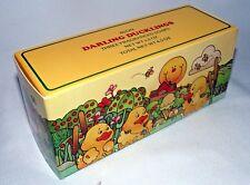 Vintage Avon Soap Ducklings Ducks Three Original Box 1983 Yellow Darling Bath 3