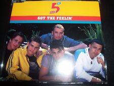 Five 5 – Got The Feelin' Australian CD Single – Like New