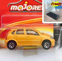 Majorette Citroen C3 Sun Roof Yellow Diecast 1:58 254A Free Display Box