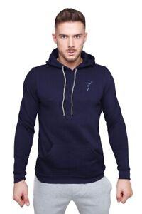 Markhoor Men Fleece Hooded Pullover Plain Sweatshirt Gym Causal Top Light weight