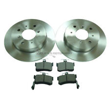 ROVER 800 820 825 827 VITESSE REAR 2 BRAKE DISCS AND PADS SET NEW