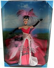 Mattel Barbie The Flamingo Doll Birds of Beauty Collection Brunette 1998 NEW