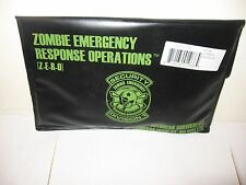 Zombie Outbreak Emergency Survival Kit w/ Posters, Cards, Toe Tag -WALKNG DEAD