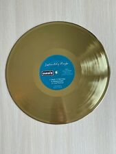 Oasis Definitely Maybe 1994 Gold Vinyl Record First Press Label
