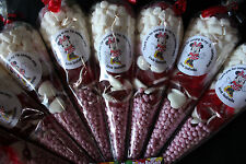 Minnie Mouse Pre Filled Goody Cones Bags Birthday Sweets Party Personalised