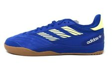 New Adidas Mens Size 10 Copa Nationale Skate Shoe Royal Blue & Yellow EG2272