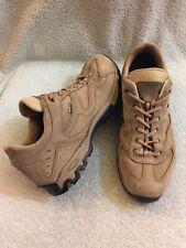 Asolo Calypso GTX Coretex Vibram Sole Suede Beige Hiking Mens Shoes Size 10.5