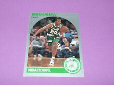 48 BRIAN SHAW BOSTON CELTICS 1990 NBA HOOPS BASKETBALL