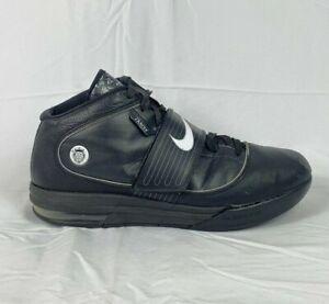 Nike Zoom Soldier IV Lebron James High Top Men's Sz 13 Black Lace-up 407630-001