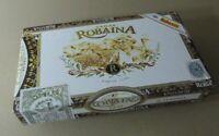 Caja de Puros Robaina Vegas vintage Cigar box Habanos 25 Famosos