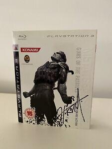 Hideo Kojima Signed Game Case