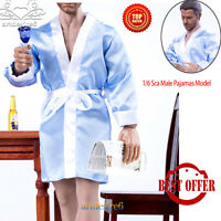 1//6 Male Action Figure Japanese Kimono Mens Bathrobe Fit 12/'/' Body Figure Toys02