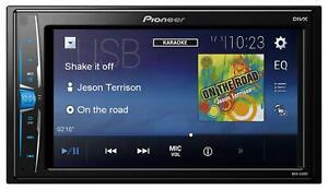 Pioneer MVH-A100V Doppel-DIN MP3-Autoradio Touchscreen iPod AUX USB - MVH A100 V