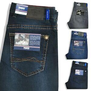 PIONEER Herren Jeans RANDO Handcrafted Megaflex Farbwahl Stretch-Denim