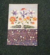 Postcard: Jacqueline Humbert, France, Carnations