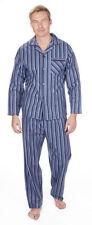 Cargo Bay Check Button Front Nightwear for Men